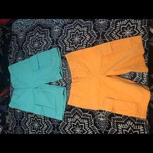 Two Nautica shorts